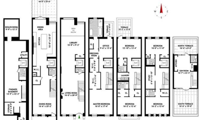 New York Townhouse Floor Plans Nyc Mhargitay