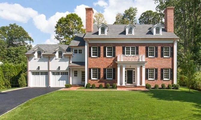 Newly Built Georgian Brick Colonial Style Home