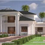 Nice Clean Villa Elevation Exterior Indian House Plans