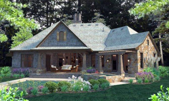 Nice Craftsman Country House Plans French