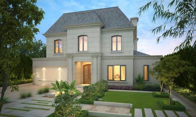 Nice French Provincial Style House Design