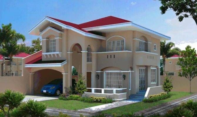 Nice House Design Very Big Home