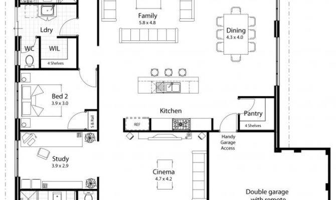 Nice Large Kitchen House Plans