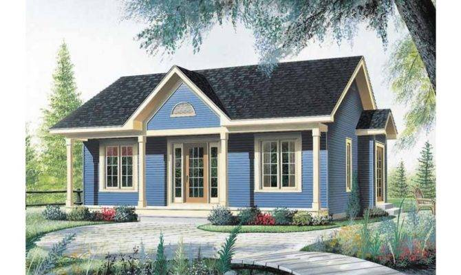 Nice Little Starter Home Hwbdo Bungalow Builderhouseplans