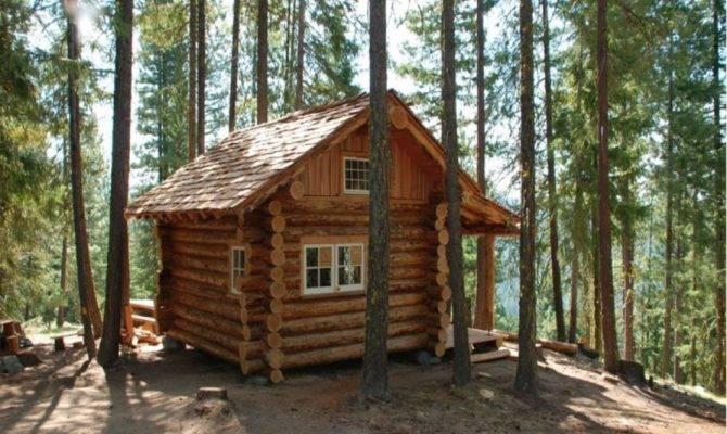 Nice Modern Cabin Plans Loft House Plan