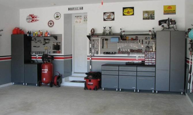 Nice Modern Design Garage Layout Ideas Has