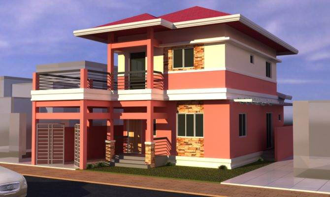 Nice Modern Houses Design Philippines House Plans 15855,Back Neck Back Side Hand Embroidery Blouse Designs