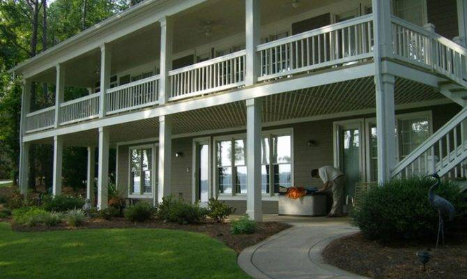 Nice Second Story Porch Home Pinterest