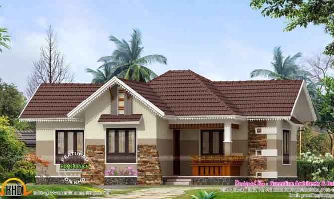 Nice Small House Exterior Kerala Home Design Floor Plans