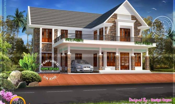 Nice Villa Design Square Yards Kerala Home