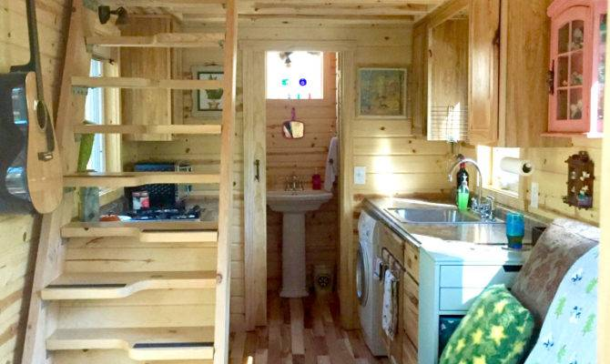 Nicki Colorful Victorian Tiny House After One Year