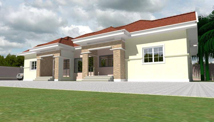 Nigerian House Design Best Designs Plans Houses House Plans 69239