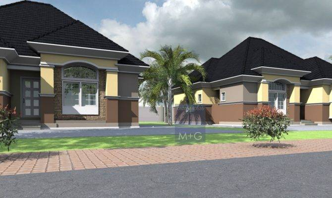Nigerian Residential Architecture Luxury Bedroom Bungalows
