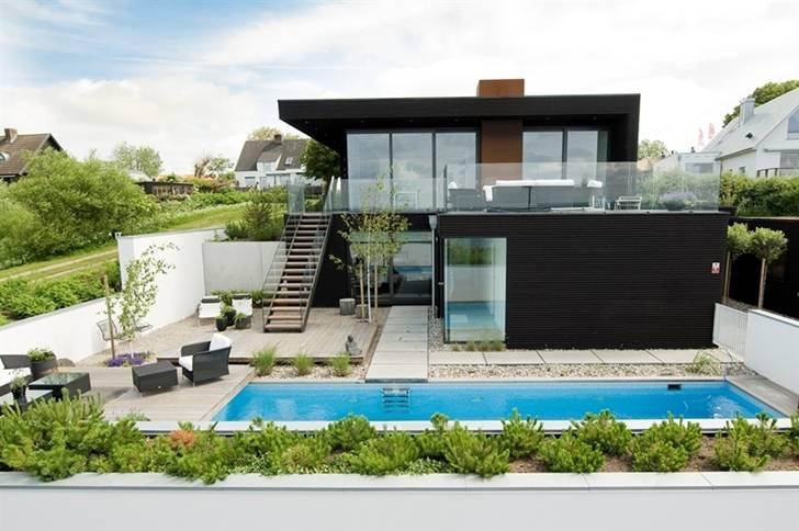 Nilsson Villa Modern Beach House Black White Interior Design House Plans 51333