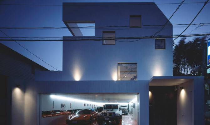 Nine Car Garage Kre House Architectural Design Office