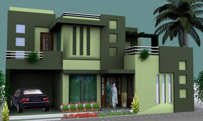 Normal House Front Elevation Designs Lovely