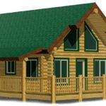Northfork Cheap Log Cabin Kit Diy