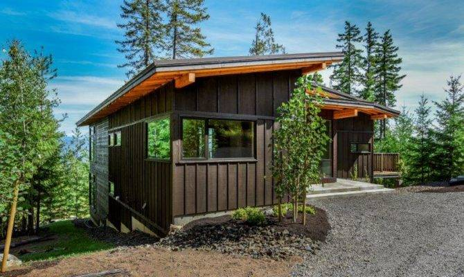 Northwest Contemporary Plans Trailside Homes