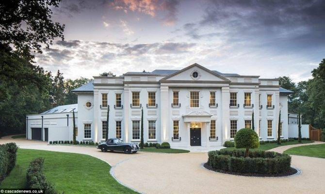 Now Home Modern Classical Mansion Surrey