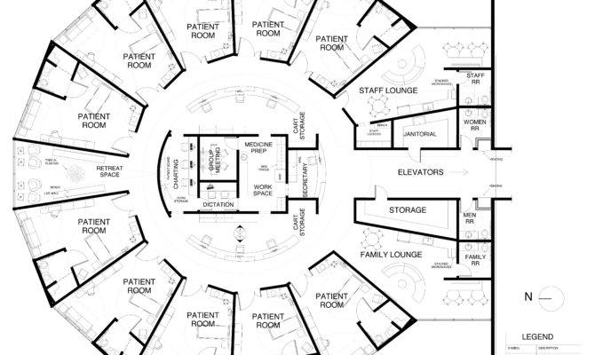Nurses Station Design Looney Perspective