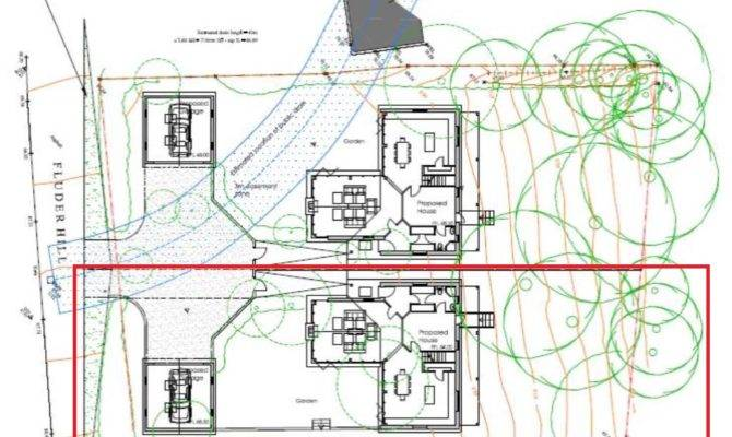 Oak Framed House Plot Pre App Planning Stage