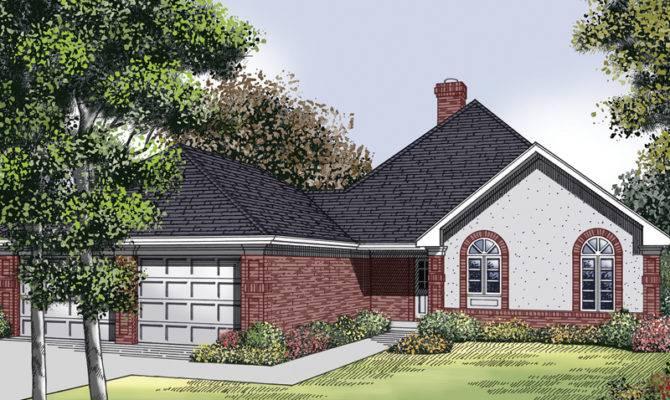 Oak Run Traditional Ranch Home Plan House Plans More