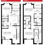 Oakbourne Floor Plan Bedroom Story Leed Certified