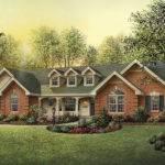 Oakbury Ranch Home Plan House Plans More