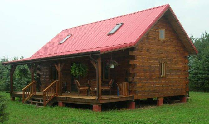 Oasis Log Homes Weekender