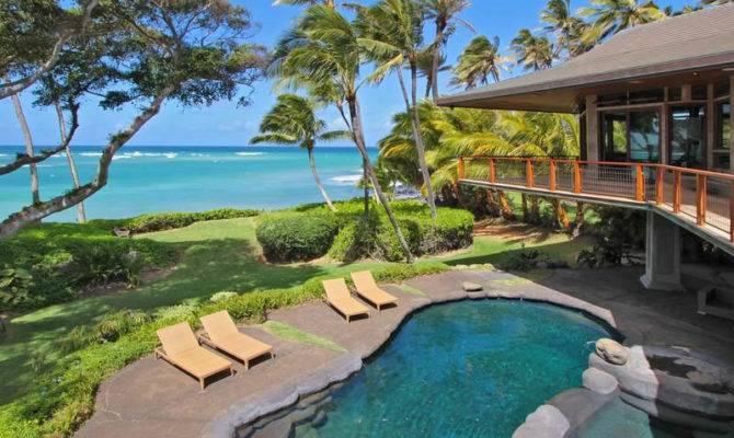 Oceanfront Residence Hawaii Displaying Creative