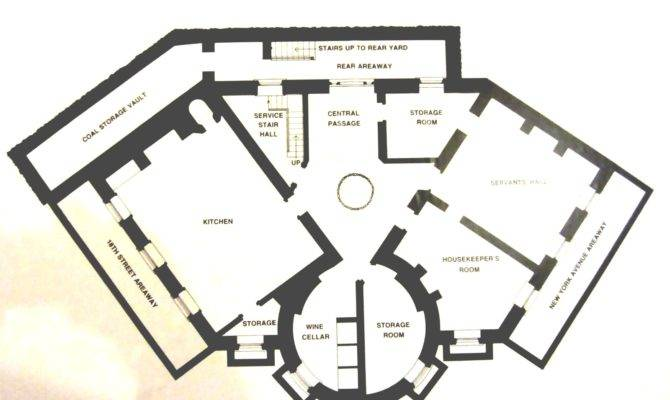Octagon House Ground Floor Plan Count Them Can Only Six