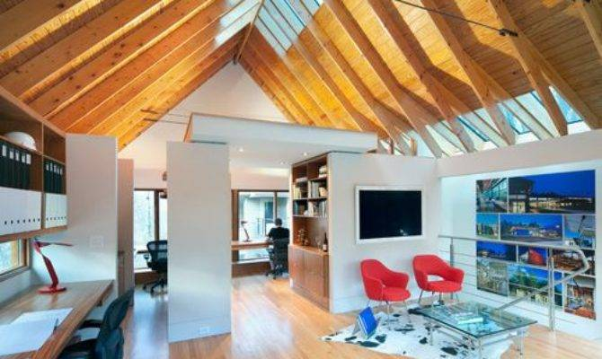Office Above Garage Home Design Ideas Renovations Photos