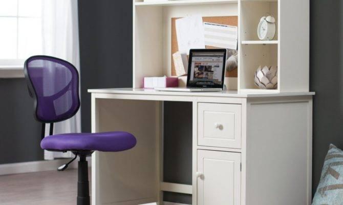 Office Closet Design Features Wall Mounted Computer Desk