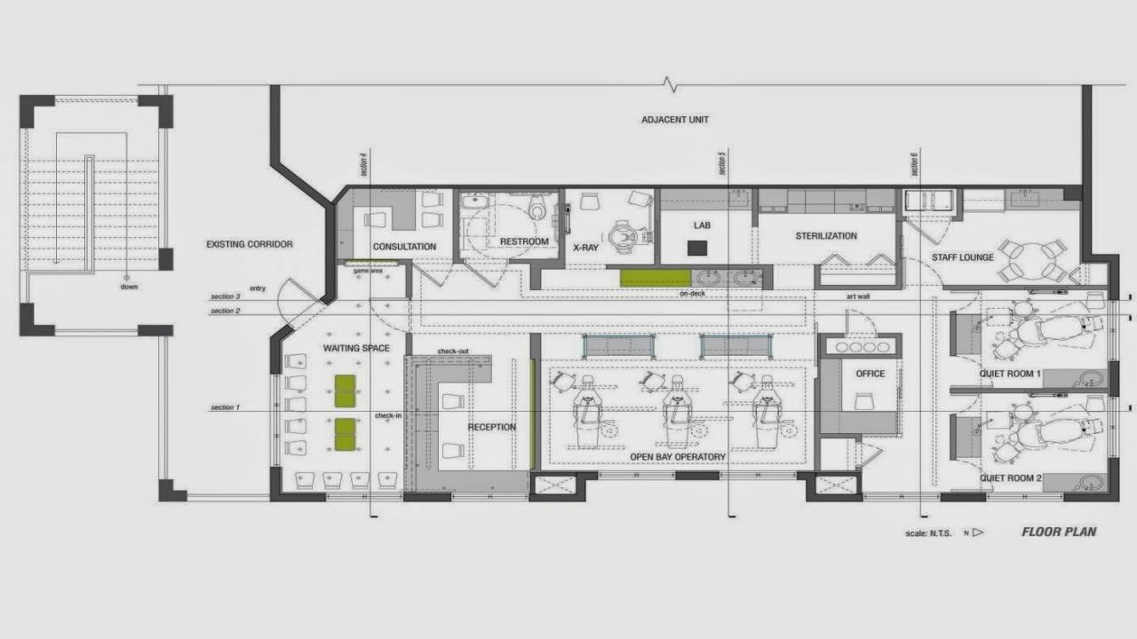 Office Layouts Small Offices Brucall House Plans 94371
