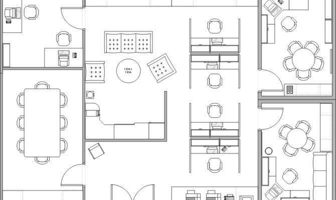 Office Plan Iluminaci Acabados Pinterest Offices