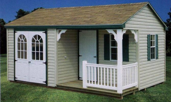 Oko Storage Shed Porch Plans
