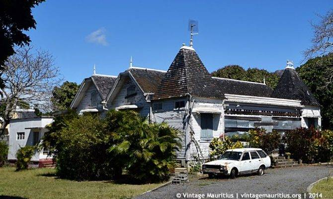 Old Abandoned Colonial House Rose Hill Vintage Mauritius