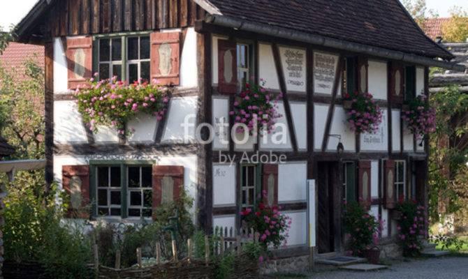 Old Bavarian Style Farm House Allgau Region