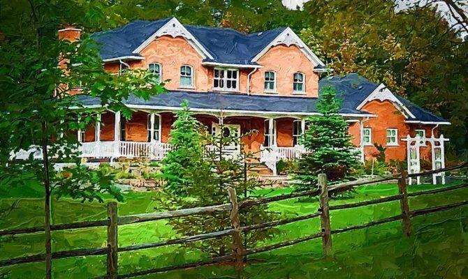 Old Country Home Deborah Macquarrie