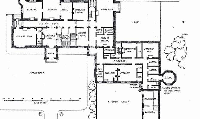 Old English House Floor Plans