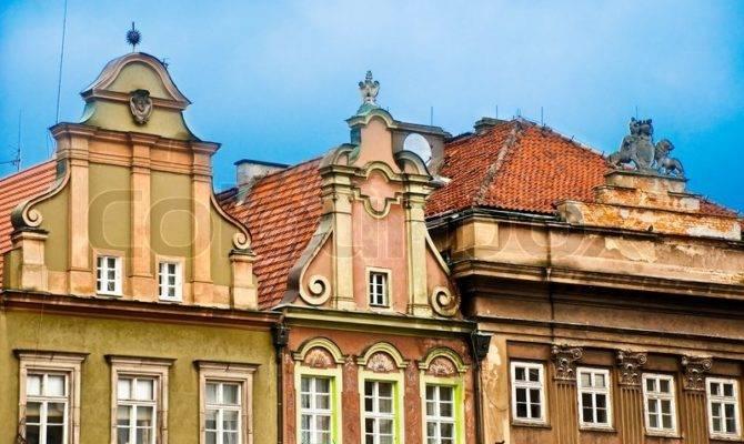 Old European Houses Poland
