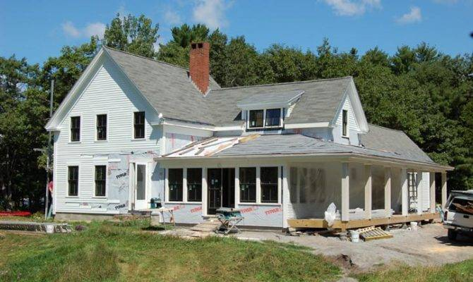 Old Fashioned Farmhouse Hwbdo Country House Plan