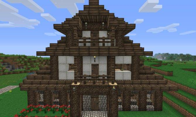 Old Fashioned Minecraft Houses