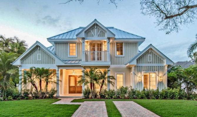 Old Florida House Plan Style Home Floor