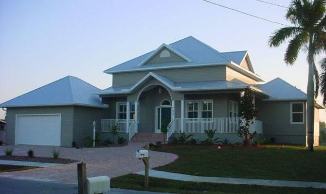 Old Florida Style Custom Home Port Charlotte