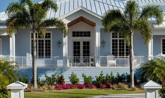 Old Florida Style Homes Fort Myers House Plan
