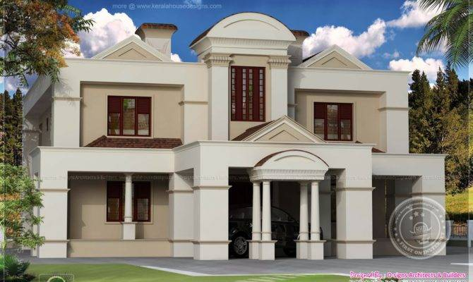 Old House Renovation Plan Colonial Style Indian Plans