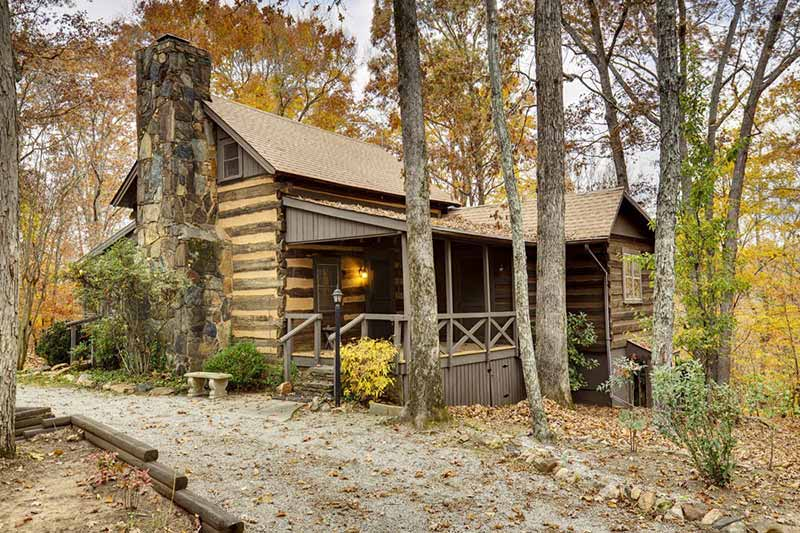 Old Hunt Country Log Cabin Circa Houses Sale House Plans 78435