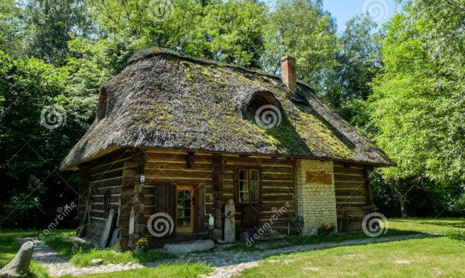 Old Polish Cottage House