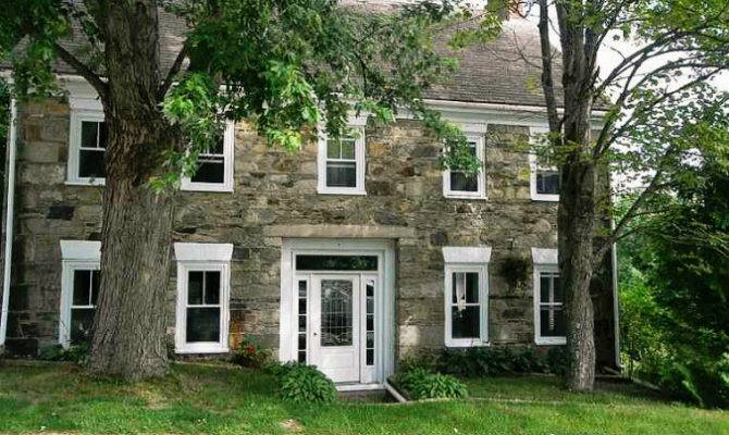 Old Stone Homes New England Houses